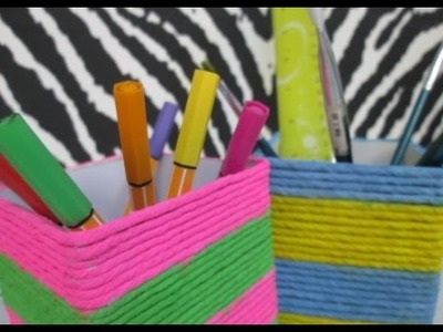 DIY : #59 Colorful Pencil Holder ♥