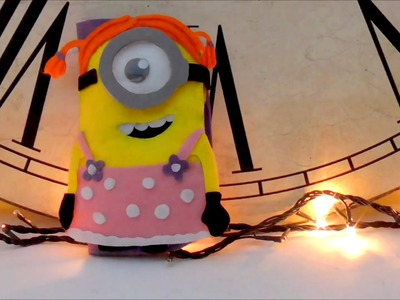 DIY crafts: how to make a minions mobile case with felt - Youtube - Isa ❤️