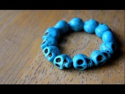 DIY Skull Bracelet | 3 Ways!