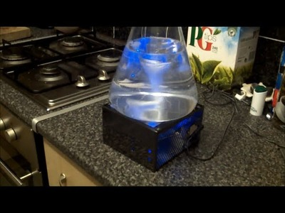 DIY stir plate using bits out of an old PC