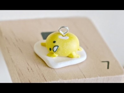 Easy Gudetama Polymer Clay Tutorial