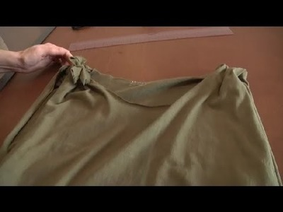 How to Alter a T-Shirt by Sewing : Sewing & Reconstructing T Shirts