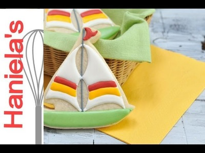 How To Decorate Sailboat Cookies