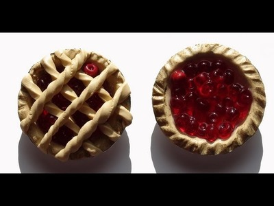 How To Make Polymer Miniature Berry Pies
