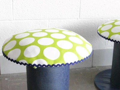 HOW TO : Make Stools From Wire Spools