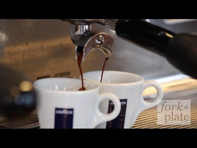 How to Make the Perfect Espresso w. Sal Foto of Lavazza