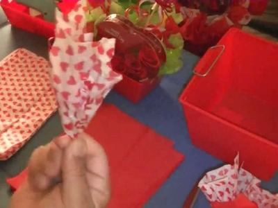 How To Prep Tissue For Bouquets And Baskets  - Video 1 in Series of 4