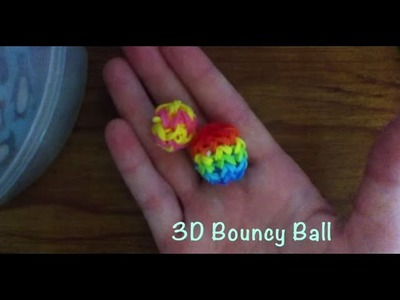 Monster tail bouncy ball