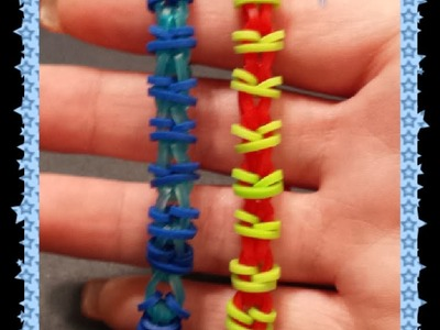 "NEW ""Fonzarelli"" HOOK ONLY Rainbow Loom Bracelet. How To Tutorial"