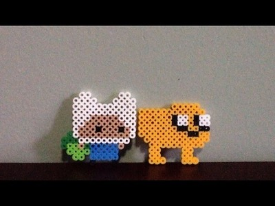 Perler Bead Finn And Jake From Adventure Time Tutorial!