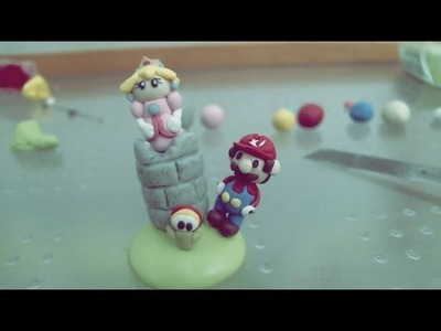 Polymer Clay: Peach and Mario - Stop Motion Tutorial