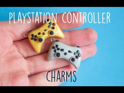 Polymer Clay PlayStation Controller Charm Tutorial | Pasteldaisy