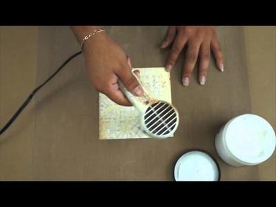 Prima Quick Tip: Using Prima Art Basics 3D Gloss Gel