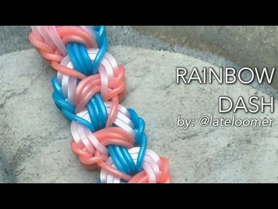 RAINBOW DASH Hook Only bracelet tutorial