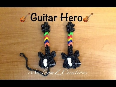Rainbow Loom Electric Guitar: Guitar Hero