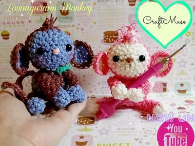 Rainbow Loom Loomigurumi Monkey
