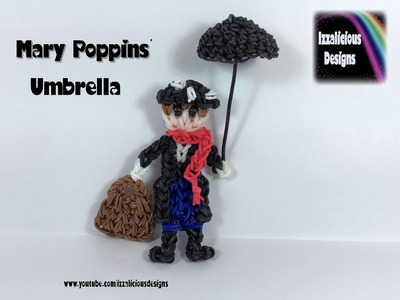 Rainbow Loom - Mary Poppins' Umbrella - hook only design