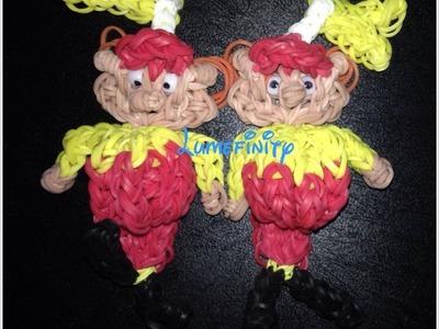 Rainbow Loom Tweedle Dee and Tweedle Dum