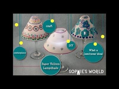 Sophie's World:  Mini Lampshades