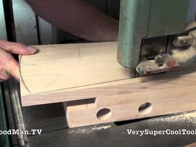 13 How To Build A Bed • Cutting Taper On the Legs