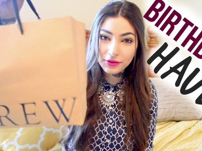 Birthday + Home Decor Haul! (J. Crew, Kate Spade, Target, & More!)