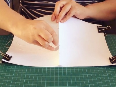 Bookbinding: how to make a sketchbook - Gathered by Mollie Makes