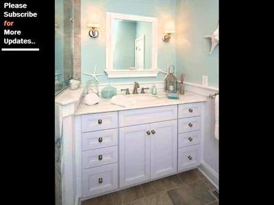 Collection Of Beach Decor Bathroom | Beach House Decorating Ideas And Samples