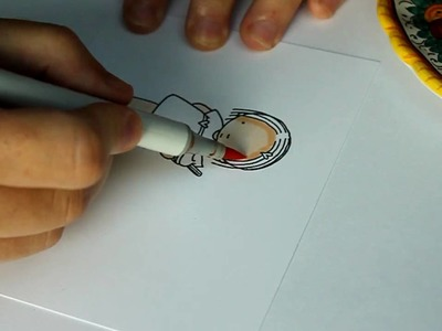Coloring Skin on new blending paper (Video 1)