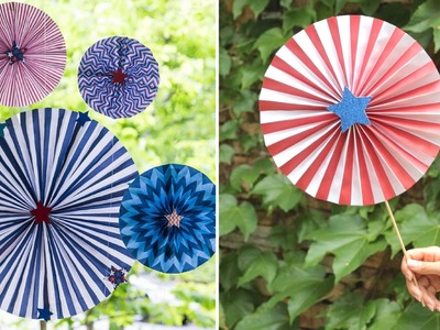 DIY Patriotic Pinwheels | Summer Tutorial