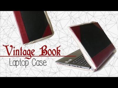 DIY ✂ Vintage Book Laptop Case