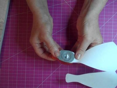 Dress shaped card