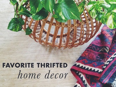Found #1 : thrifted home decor