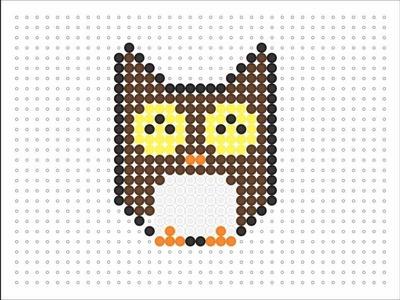 Hama Bead Owl (Animal Series #4)