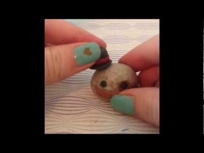 How to make a pet rock- Polymer clay tutorial