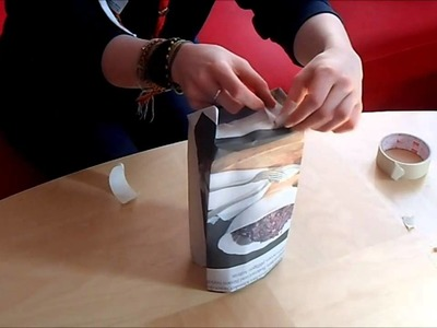 How to make a recycled paper bag