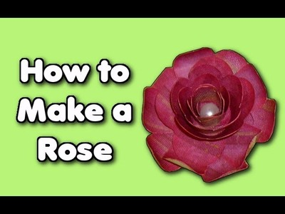 How to Make Roses out of Paper