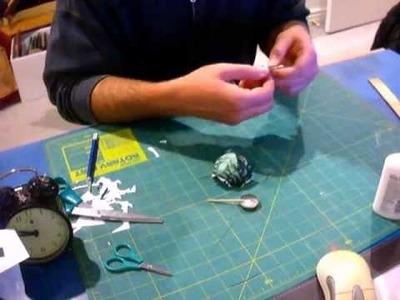 Hulk paper craft Day 1