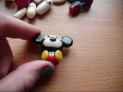 Kawaii Polymer clay-charm update #1