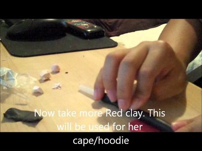Little Red Riding Hood Polymer Clay Tutorial ♥