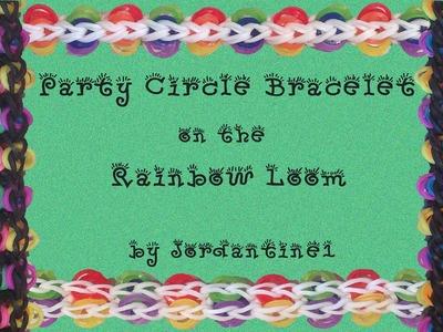 New Party Circle Bracelet - Rainbow Loom, Crazy Loom, Fun Loom, Wonder Loom