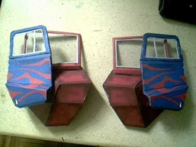 Optimus papercraft part 2B and 2C