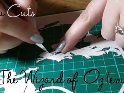 Paper Panda cuts the Wizard of Oz template!