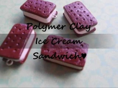 Polymer Clay: Ice Cream Sandwich Tutorial