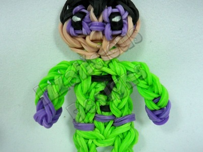 Rainbow Loom Riddler from Batman Series - Action Figure.Charm - Gomitas