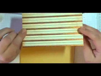 Simple masculine card using cricut Cartridge