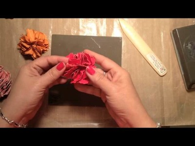 Stampin' Up! Video Tutorial Make Paper Flowers with Punches