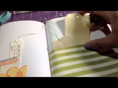 Travel Journal Flip! from Marianne K.'s hardcover journal tutorial!!