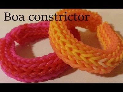 Boa Constrictor Bracelet - MonsterTail Loom