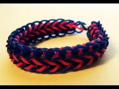 Cornrow Bracelet on Rainbow Loom