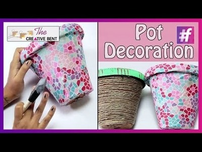 Decorate Terracota Planters | DIY with Swati